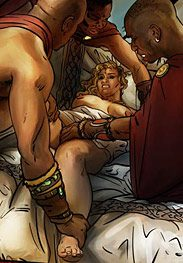 Livia went to bed alone that night - Enemies of Rome by Mr Kane