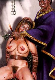 Gladiatrix - And the pain in her breasts is unbearable by Mr.Kane